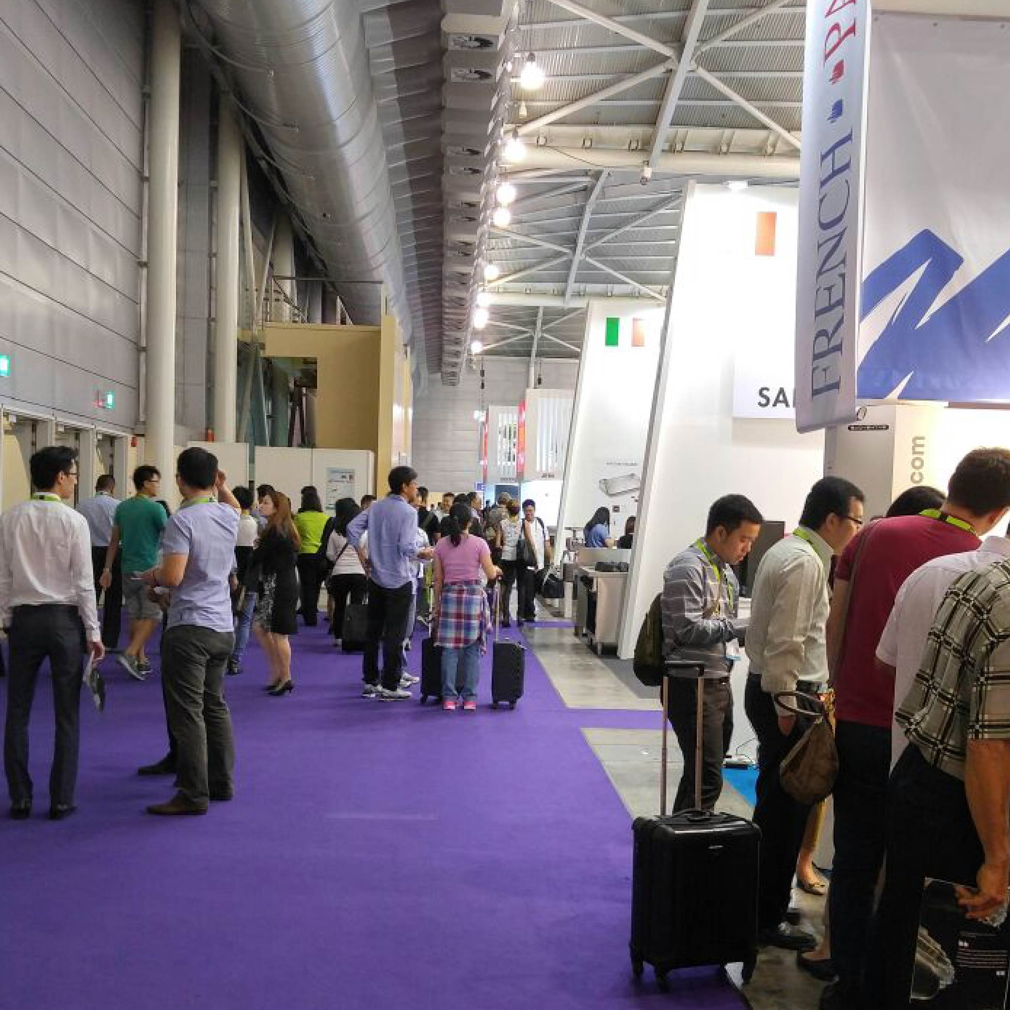 Visitors during Food and Hotel Asia 2016