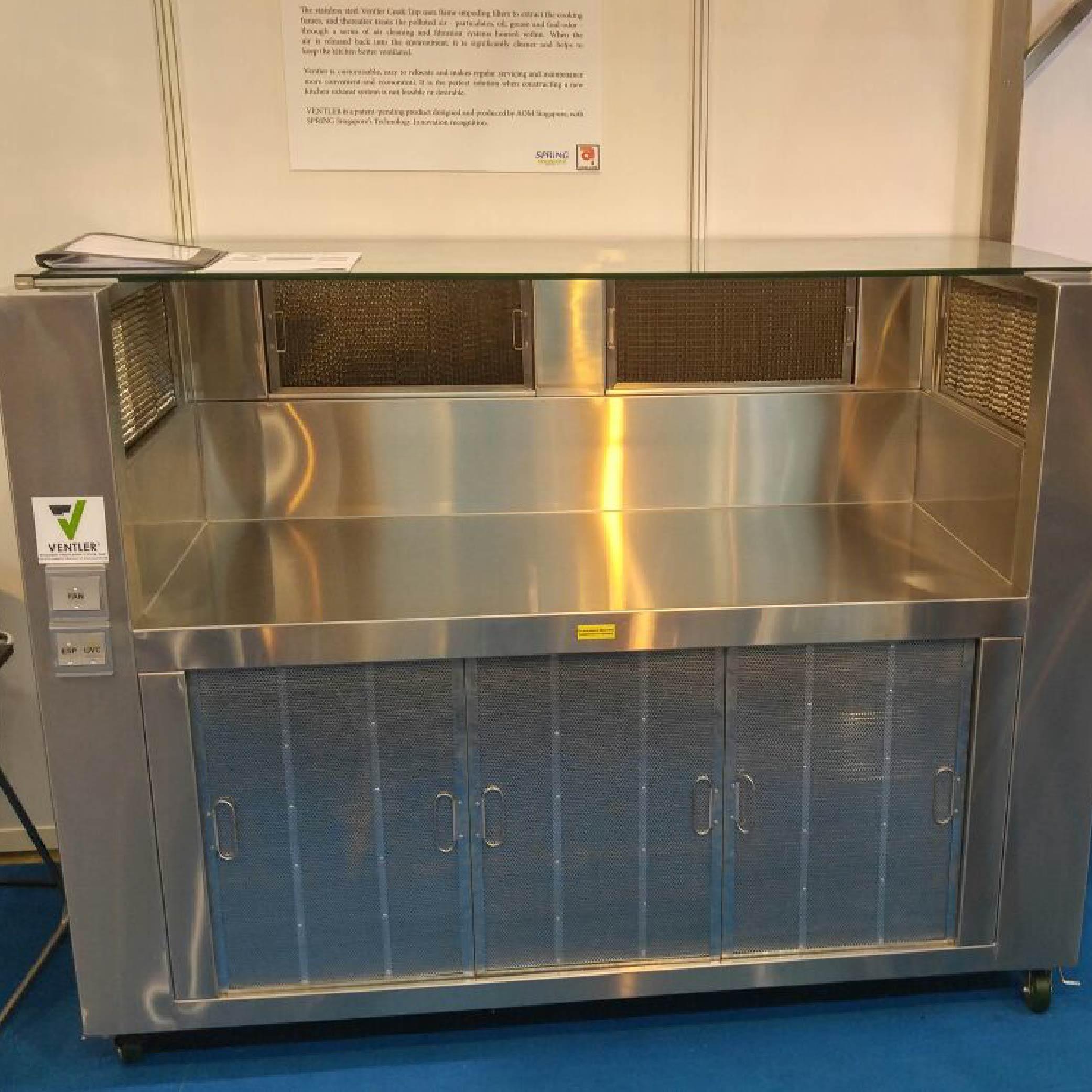 Ventler Cook Top on display