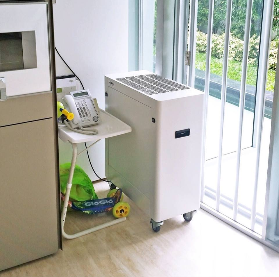 AOM Industrial Air Cleaner at Manjo Residences
