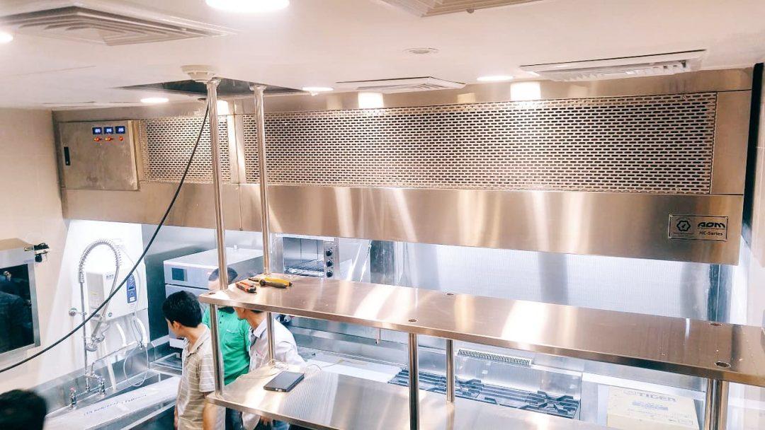 HC Series Hood Installation in Thailand