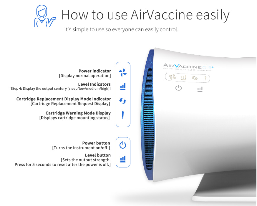 AirVaccine015+ How To Use